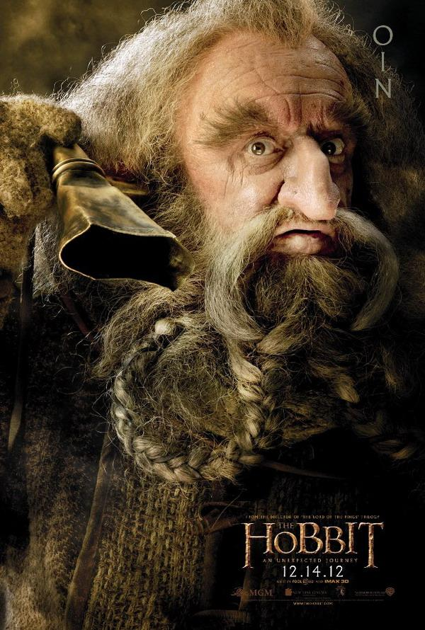 The Hobbit An Unexpected Journey - Oin