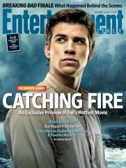 The Hunger Games Catching Fire EW Cover - Gale (Liam Hemsworth)