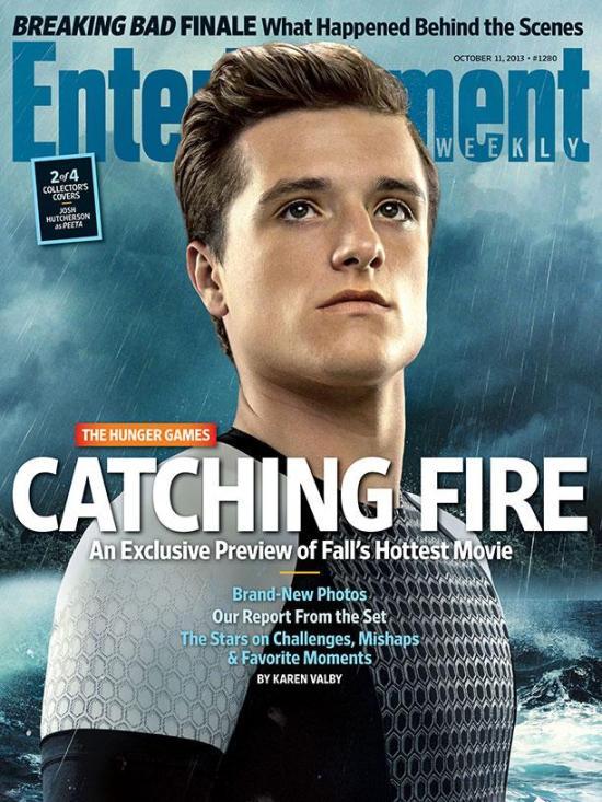 The Hunger Games Catching Fire EW Cover - Peeta (Josh Hutcherson)