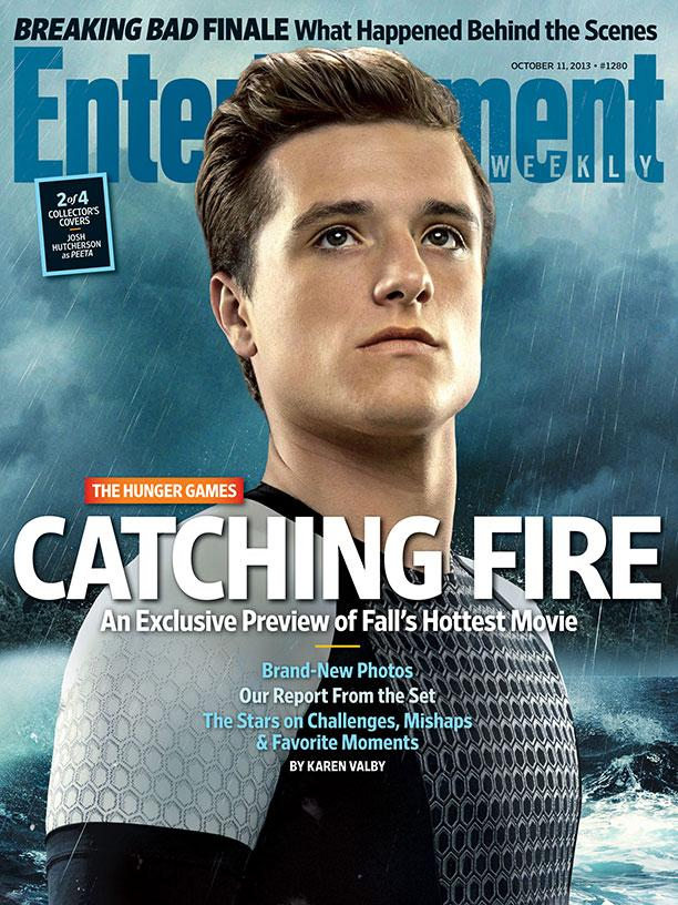 The Hunger Games Catching Fire EW Cover - Peeta (Josh Hutcherson)