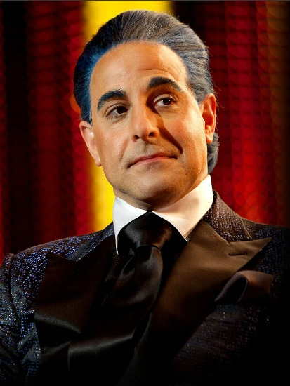 The Hunger Games - Stanley Tucci as Caesar Flickerman
