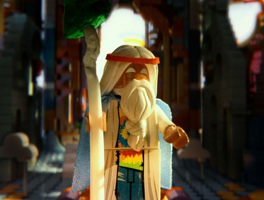 The Lego Movie - Vitruvius (Morgan Freeman)