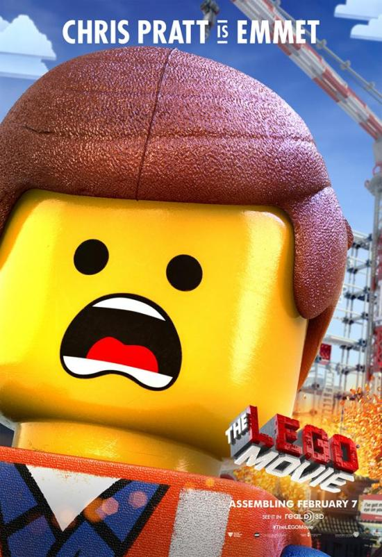 The Lego Movie poster - Emmet