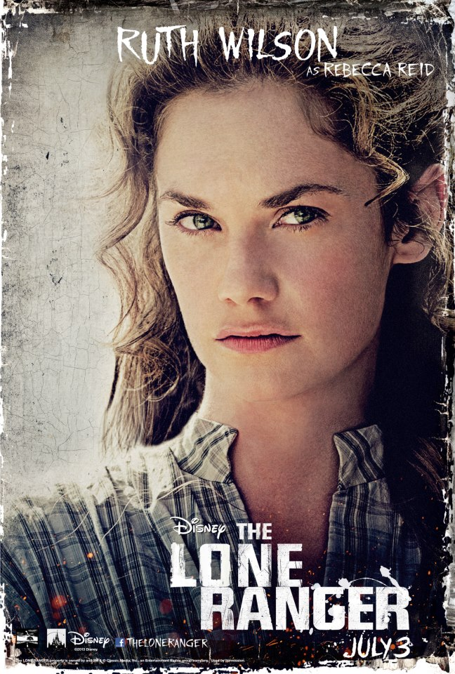 The Lone Ranger - Ruth Wilson as Rebecca Reid