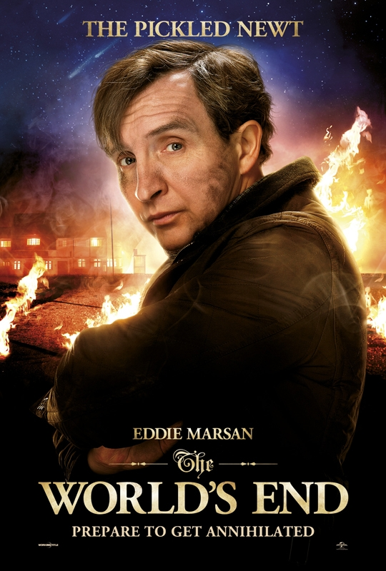 The Worlds End - The Pickled Newt (Eddie Marsan)