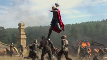 Thor the Dark World jump