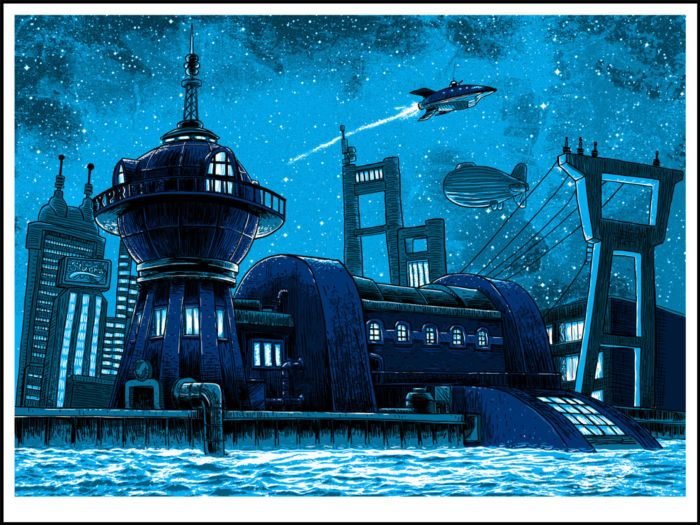 Tim Doyle - Futurama