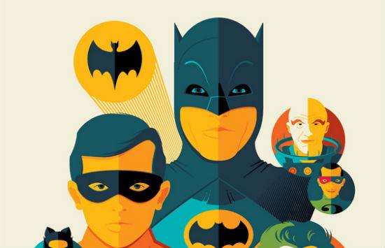 Tom Whalen - Batman header