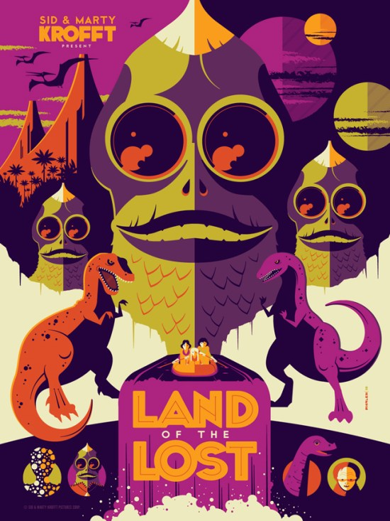 Tom Whalen - Land of the Lost variant