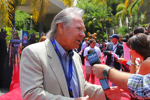 Transformers The Ride 3D grand opening - Frank Welker