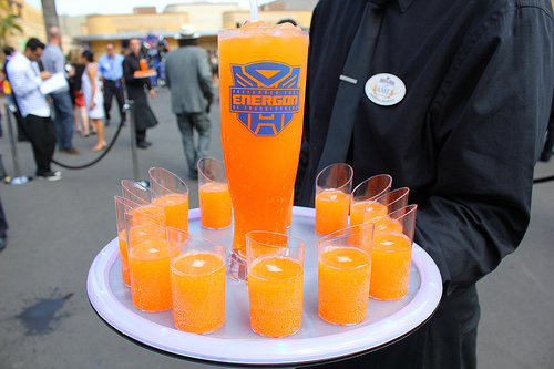 Transformers The Ride 3D grand opening - Liquid Energon