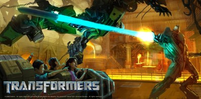 Transformers The Ride -- 3D