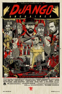 Tyler Stout - Django Unchained Wood