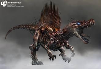 Wesley Burt - Spinosaurus 2