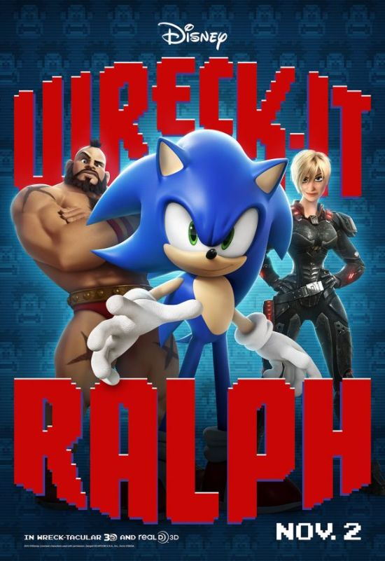 Wreck-It Ralph Sonic