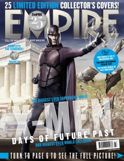 X-Men DOFP Empire cover - Magneto