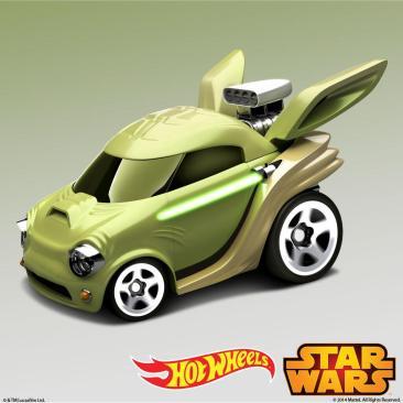 Yoda Hot Wheels