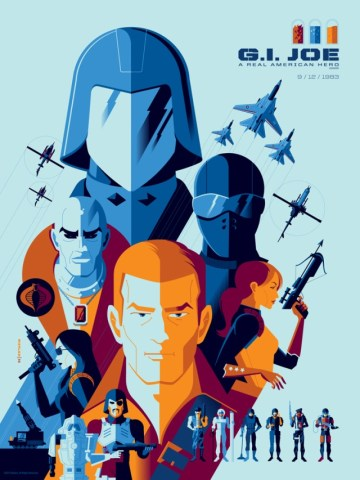 GI JOE: A REAL AMERICAN HERO variant by Tom Whalen