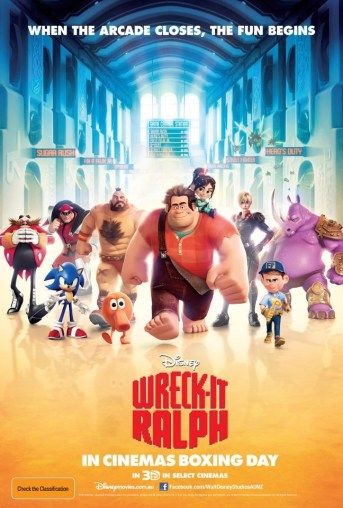 Wreck It Ralph international poster
