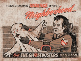 "Clark Orr's Ghostbusters ""Something Strange"""