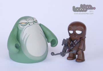 Adorable Star Wars vinyl toys
