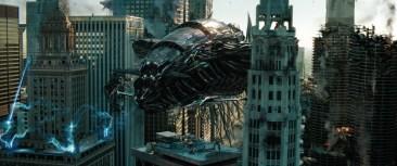 Transformers: Dark of the Moon Decepticon spaceship