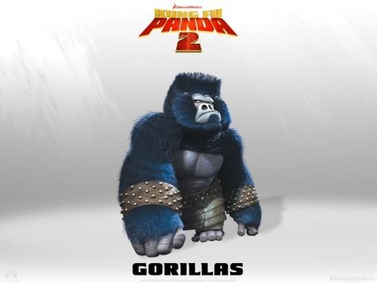 Kung Fu Panda - Gorillas