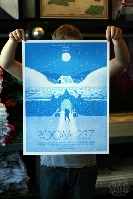 Mondo's Room 237 print by Aled Lewis