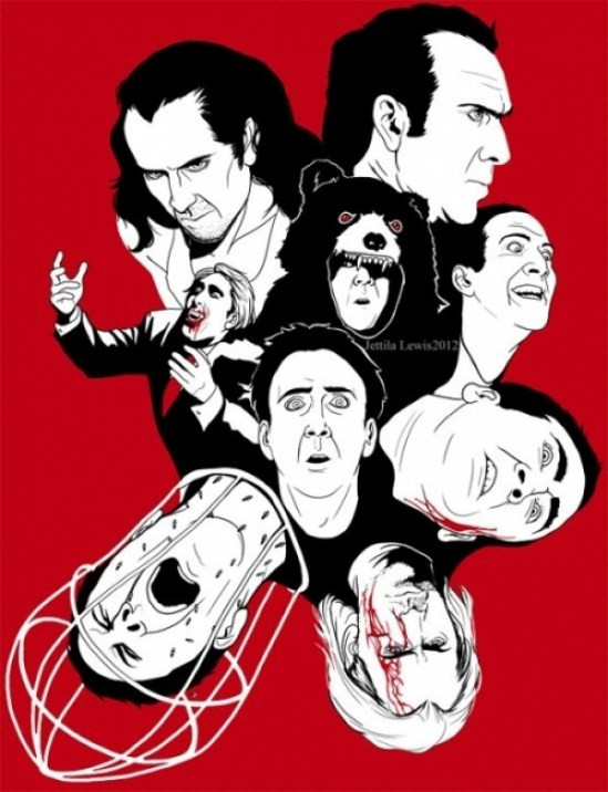 The Faces of Nicolas Cage T-Shirt