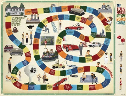"Max Dalton ""The Ferris Bueller's Day Off Board Game"