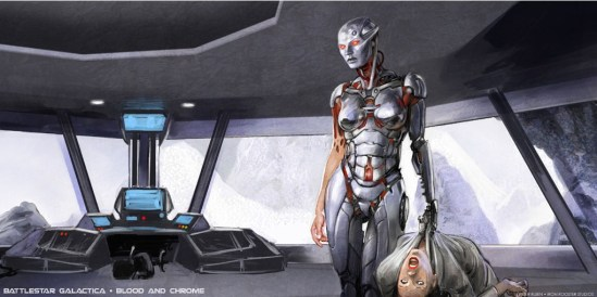 Concept Art: Battlestar Galactica: Blood and Chrome