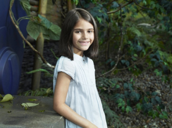TERRA NOVA: Alana Mansour as Zoe Shannon