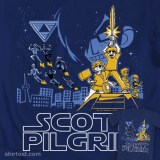 "Scott Pilgrim/Star Wars t-shirt mash-up ""Not So Long Ago"""