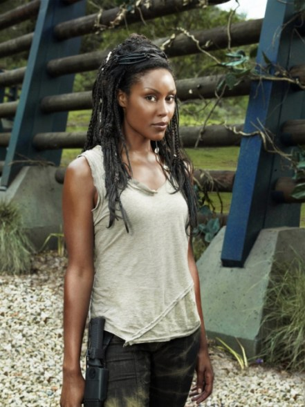 TERRA NOVA: Christine Adams as Mira