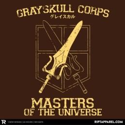 Greyskull Corps t-shirt