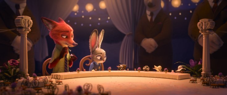 Zootopia - dinner table