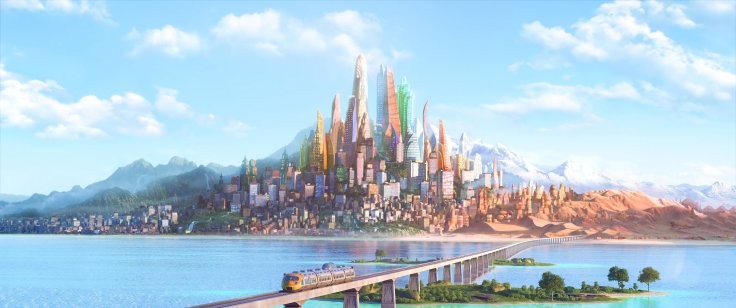 Zootopia - skyline