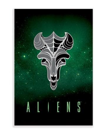 Mondo Aliens Enamel Pin