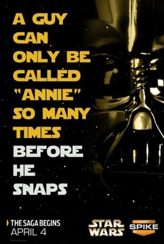 Star Wars Annie Poster