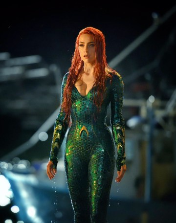 Aquaman Photo - Amber Heard as Mera