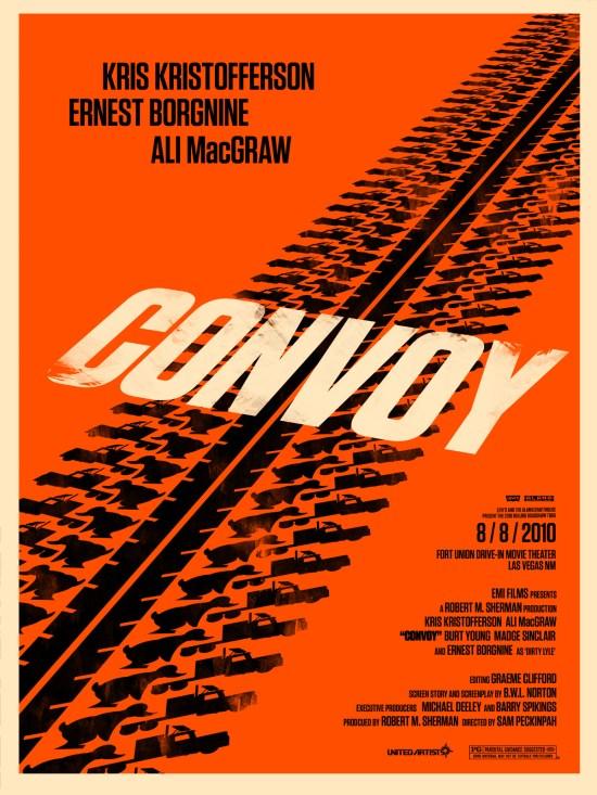 convoy - Olly Moss