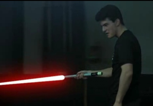 tom cruise lightsaber