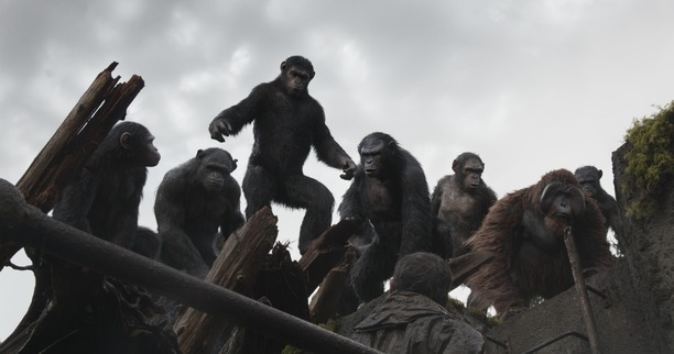 Final Dawn of the Planet of the Apes trailer