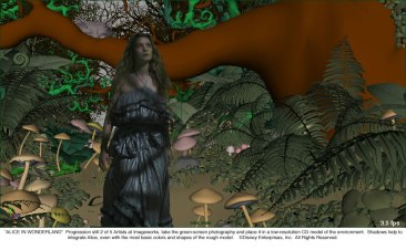 Alice in Wonderland: Forest Progression 2 of 5