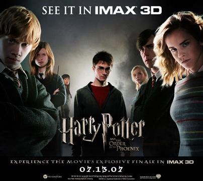 Potter IMAX Poster