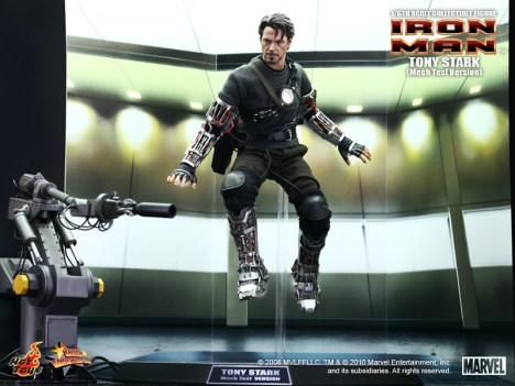 "IRON MAN - 12"" Tony Stark collectible figure (Mech Test Version)"