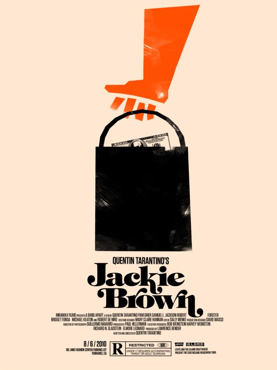 jackie brown - Olly Moss
