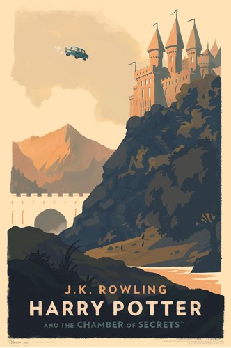 olly moss harry potter poster chamber of secrets
