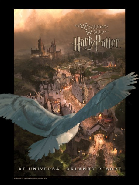 The Wizarding World of Harry Potter - Owl Promo Image
