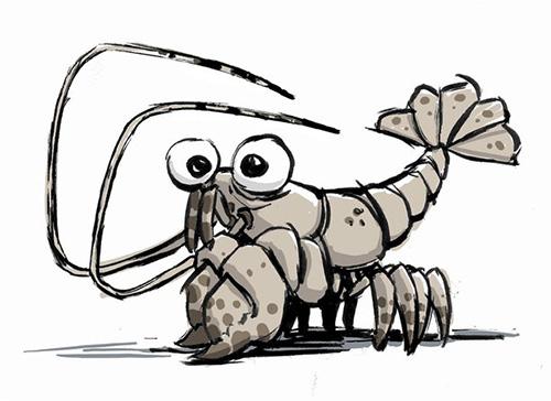 Newt - Crustacean